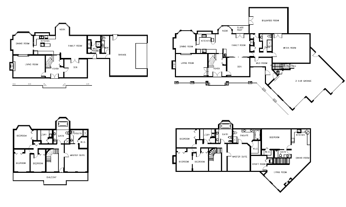 15 spectacular normal house plans home building plans for Normal house plans photos